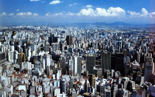 São Paulo is the ninth largest city in the world and the largest in South America. Photo credit: KLM