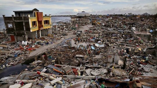 The disaster left in Tacloban City, the Philippines after Typhoon Yolanda. Credit: theaustralian.com.au