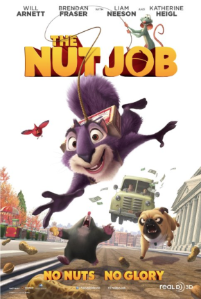 Released on January 17, the film is about a squirrel on a mission to break and enter a nut store for the winter. Credit: Redrover Co., Ltd. (2013)