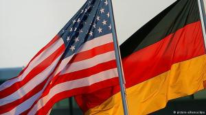 The U.S. and German flags. Credit: DW.de